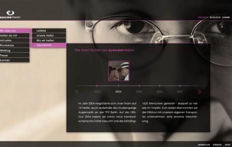 Eyecaremission – Brillen für Kambodscha | Website