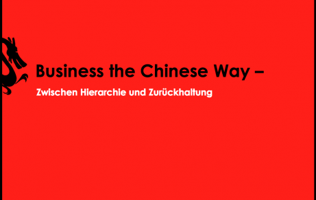 Business The Chinese Way | Presentation