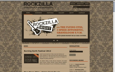 ROCKZILLA | Website