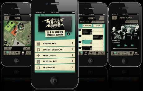 Blue Moon Festival | Mobile App