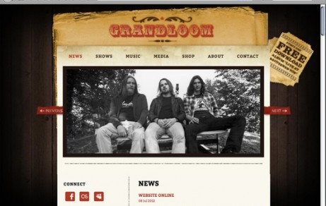 Grandloom | Website