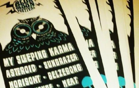 Blue Moon Festival | Poster