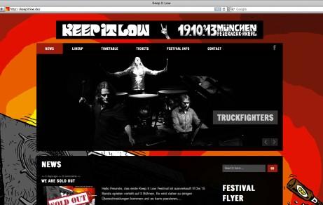 Keep It Low | Website