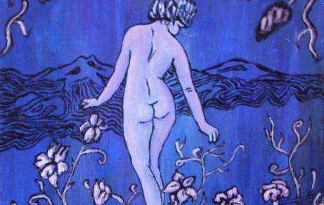 Purple Hills | Acryl on canvas