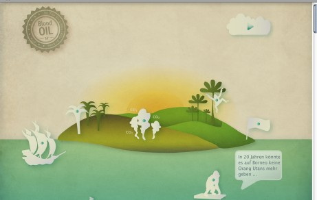 ECO.interactive Guide about Palm Oil Boom | Website