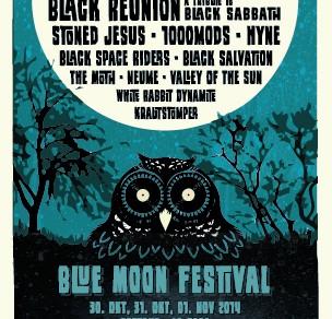 Blue Moon Festival 2014 | Flyer, Poster, Tickets